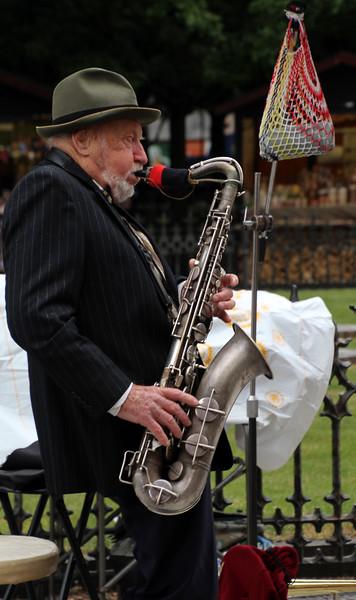 Prague, Czech Republic, Street Musician, Old Town Square