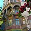Prague, Czech Republic, Jewish Quarter, Colorful Building