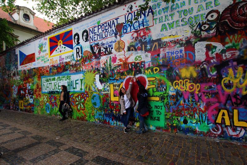 Prague, Czech Republic, John Lennon Wall