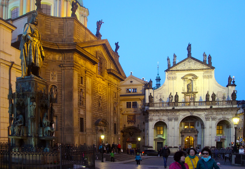 Prague, Czech Republic, Statue of King Charles