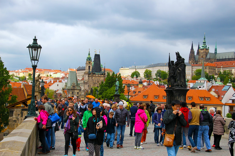 Prague, Czech Republic, Charles IV 700th Birthday Celebration, Charles Bridge