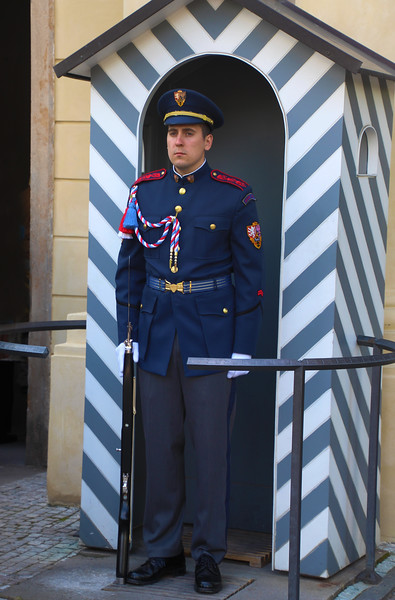 Prague, Czech Republic, Castle Guard