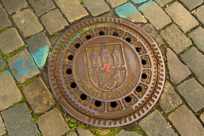 Prague, Czech Republic, Artistic Street Cover