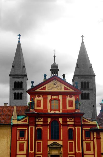 Prague, Czech Republic, Basilica of St. George