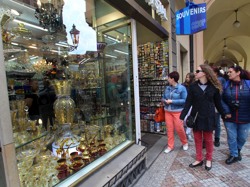 Prague, Czech Republic, Shopping Scene