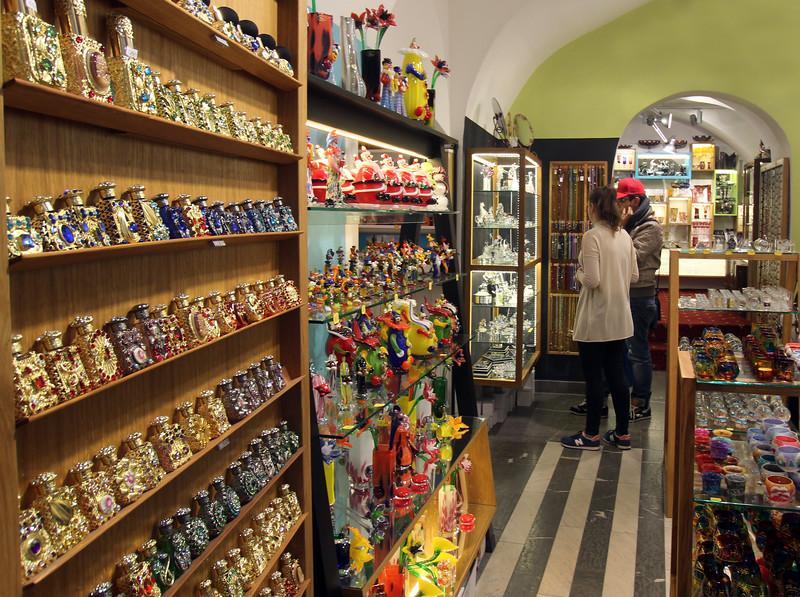 Prague, Czech Republic, Souvenir Shopping