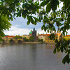 Prague, Czech Republic, View on Charles Bridge