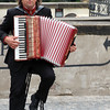 Prague, Czech Republic, Street Accordionist