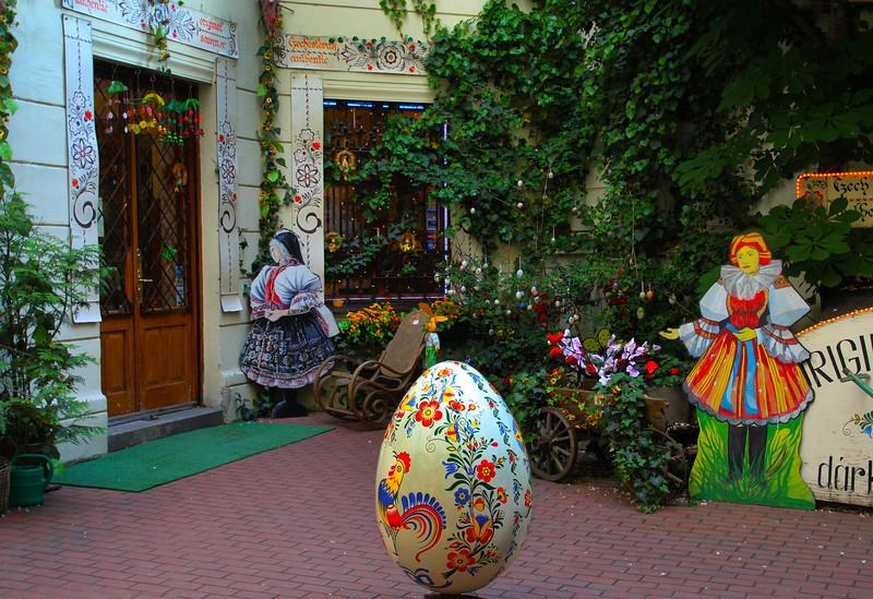 Prague, Czech Republic, Colorful Ethnic Store