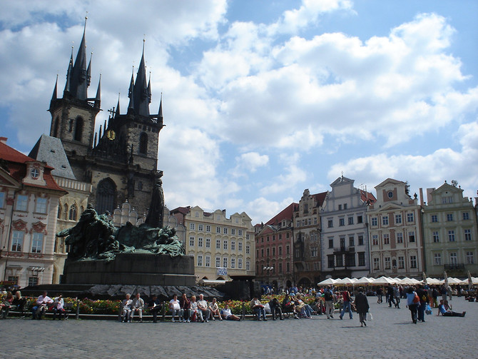 Old Town Square, Prague - Czech Republic