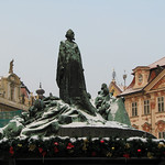John Hus Ready for Christmas – Prague, Czech Republic – Daily Photo