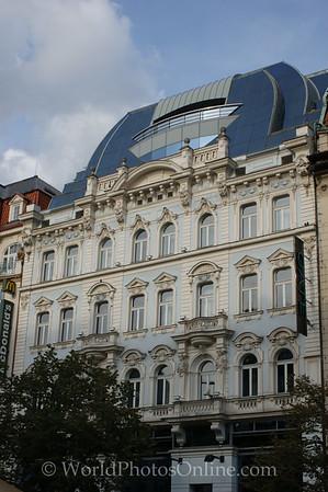 Prague - Wenceslas Square - Building 4