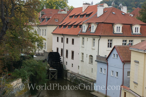 Prague - Vltava River - Old Water-Mill