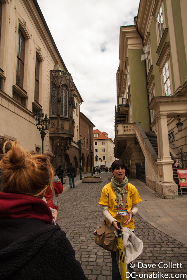 Our Australian/Czech tour guide