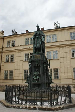 Prague - King Carlos IV Statue