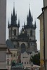 Prague - Old Town Square - Tyn Cathedral 2