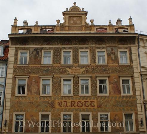 Prague - Little Town Square - Building