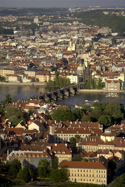 Aerial View - Prague, Czech Republic