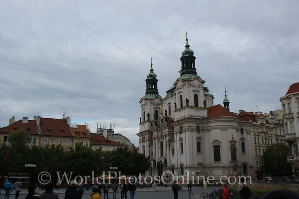 Prague - Old Town Square - St  Nicholas's Church