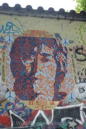 Prague - Little Town - Lennon Wall 1