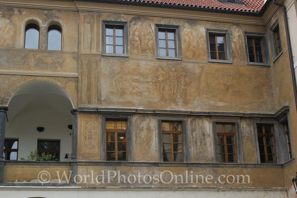 Prague - Foreign Traders Area - Renaissance house
