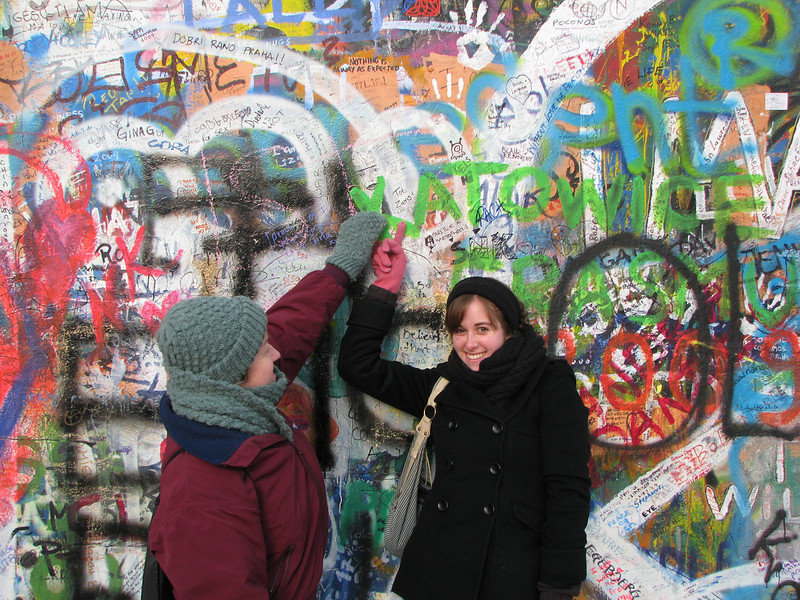 John Lennon Peace Wall