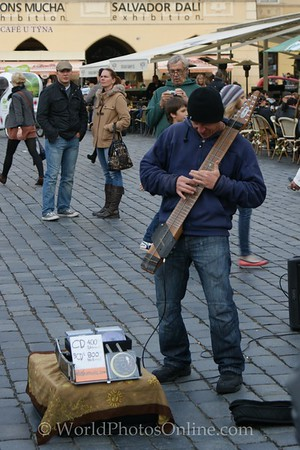 Prague - Old Town Square - Buskers 2
