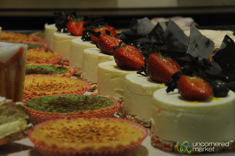 Rows of Perfect French Pastries - Prague, Czech Republic