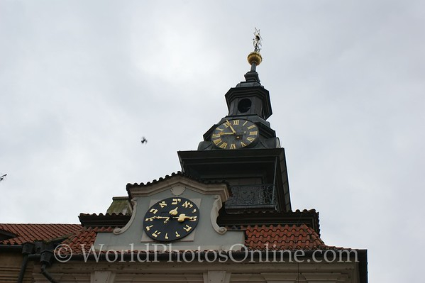 Prague - Jewish Quarter- Town Hall Clock