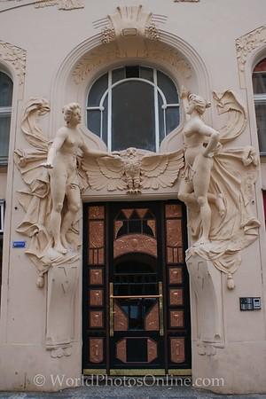 Prague - Ornate Door 1