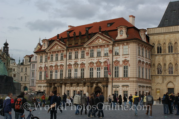 Prague - Old Town Square - Kinsky Palace