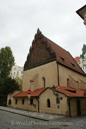 Prague - Jewish Quarter - Old-New Synagogue