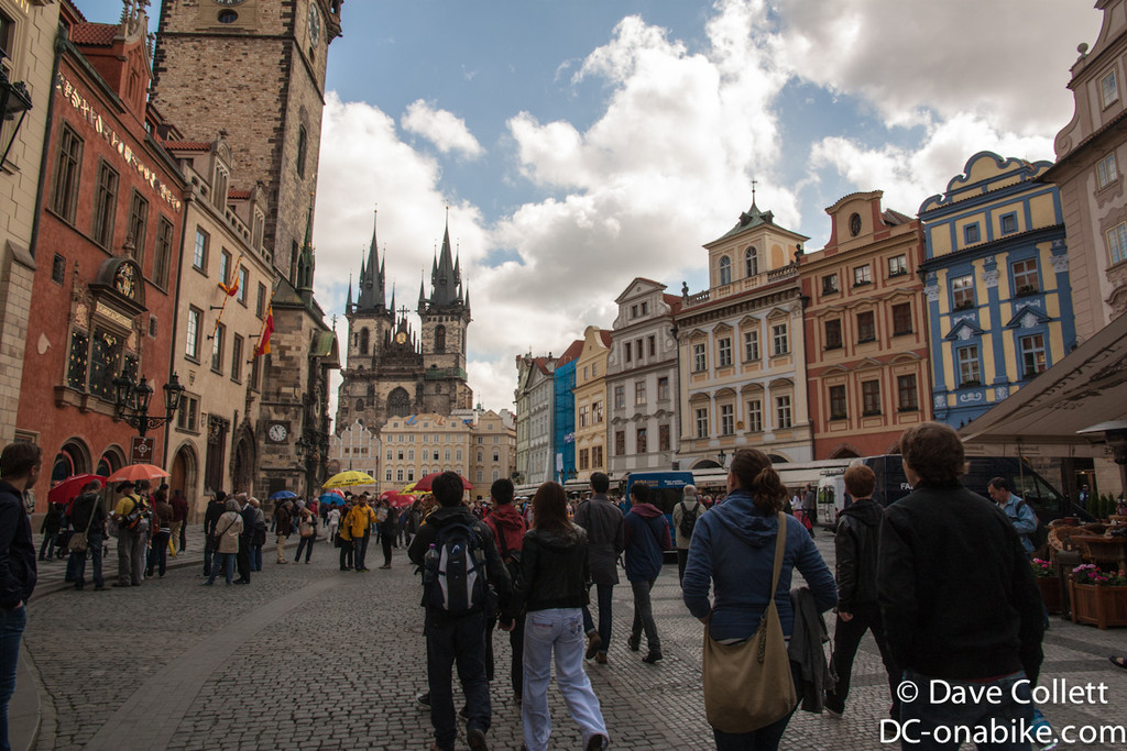 Coming into the Old Town Square