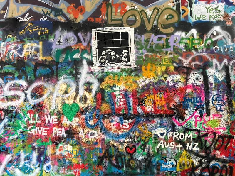 Lennon Peace Wall