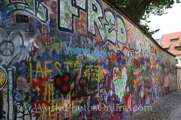 Prague - Little Town - Lennon Wall 2