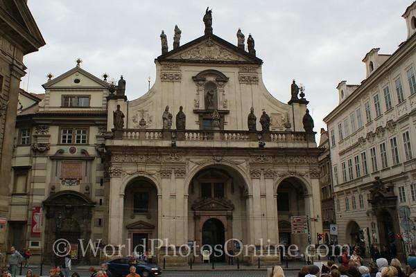 Prague - Church of the Crusaders