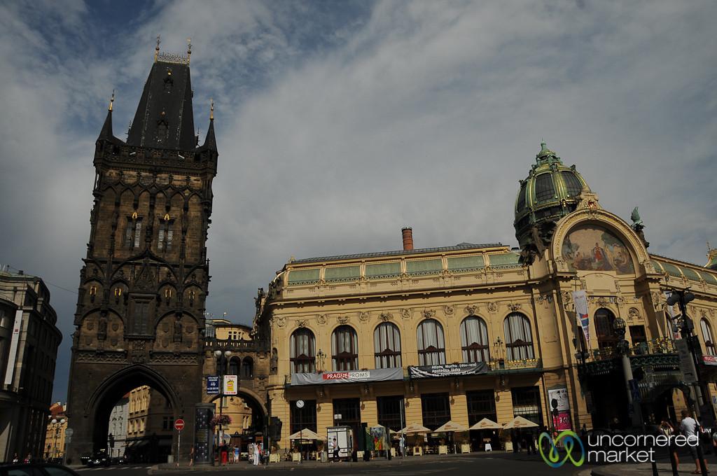 Entering into Prague's Old Town - Czech Republic