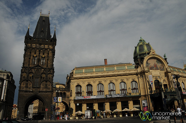 Entering into Prague's Old Town - Czech Republic