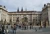 Prague - Prague Castle - Castle Gates & Office of the President