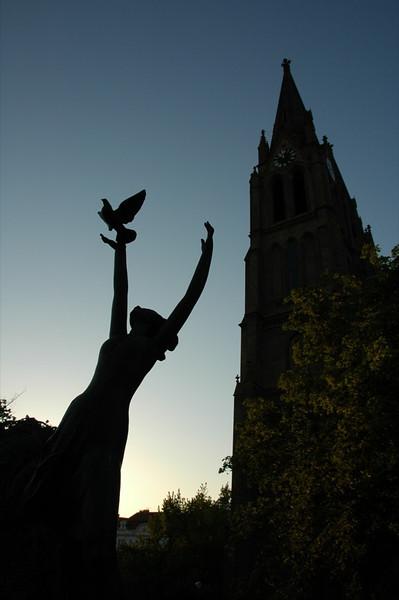 Peace and Freedom, Namesti Miru - Prague, Czech Republic