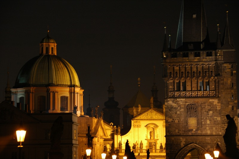 Into Old Town at Night - Prague, Czech Republic
