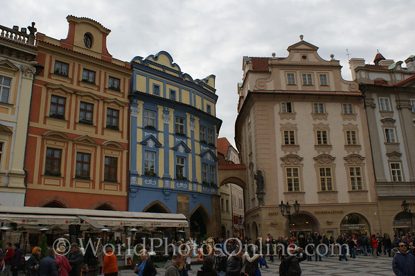 Prague - Old Town Square - Colorful Shops