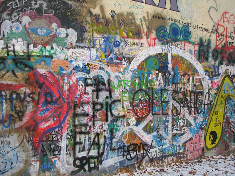John Lennon Peace Wall