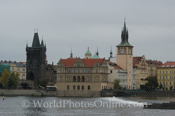 Prague - Vltava River - Old Town