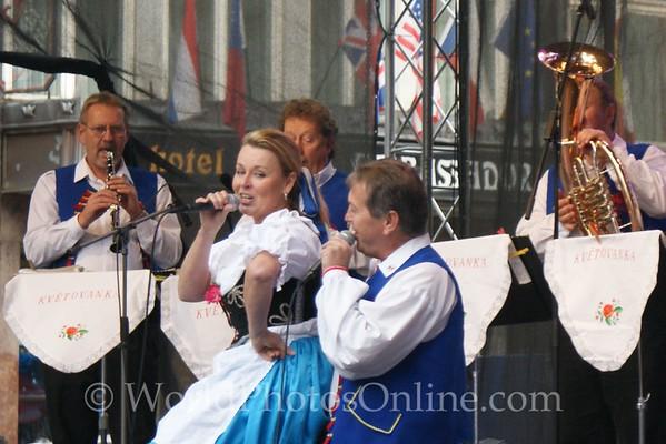 Prague - Wenceslas Square - Taste of Czech Republic Festival - Music