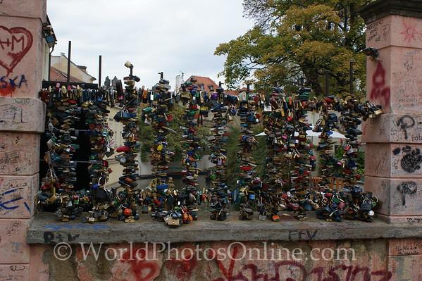 Prague - Little Town - Love Locks