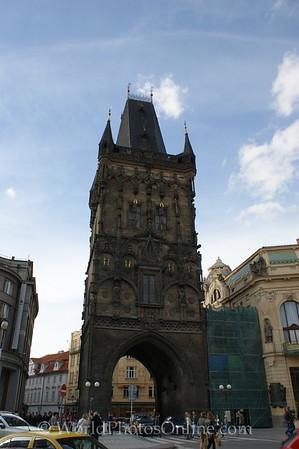Prague - Powder Tower by Municipal House