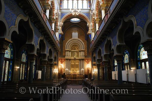 Prague - Jerusalem Synagogue - Interior 2