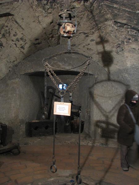 Dungeon in Prague Castle