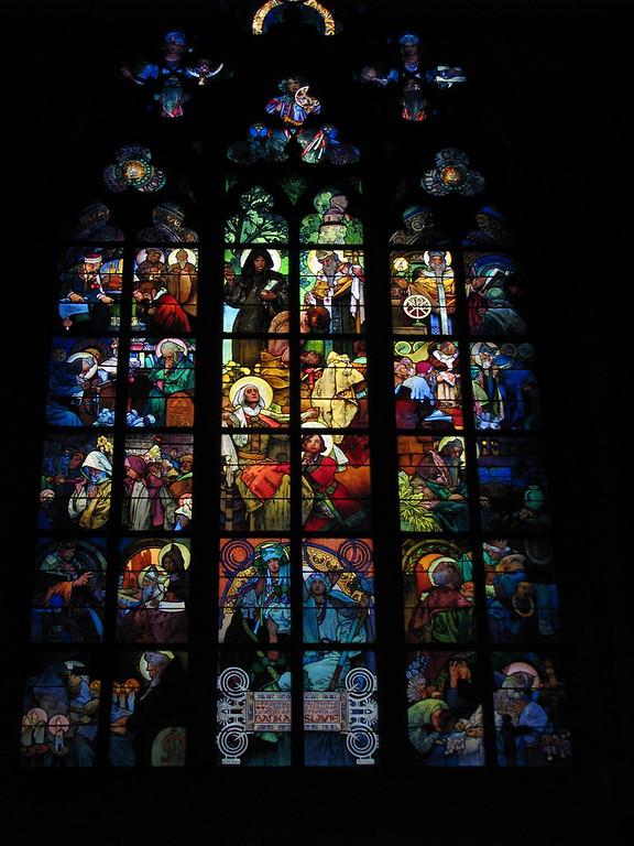 Alfons Mucha window
